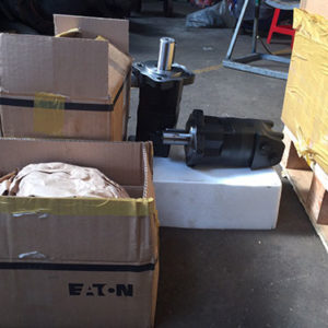 hydraulic motor OMS200 & OMS250 - Eaton UK 2