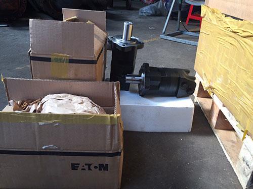Hydraulic motor OMS200 & OMS250 – Eaton UK