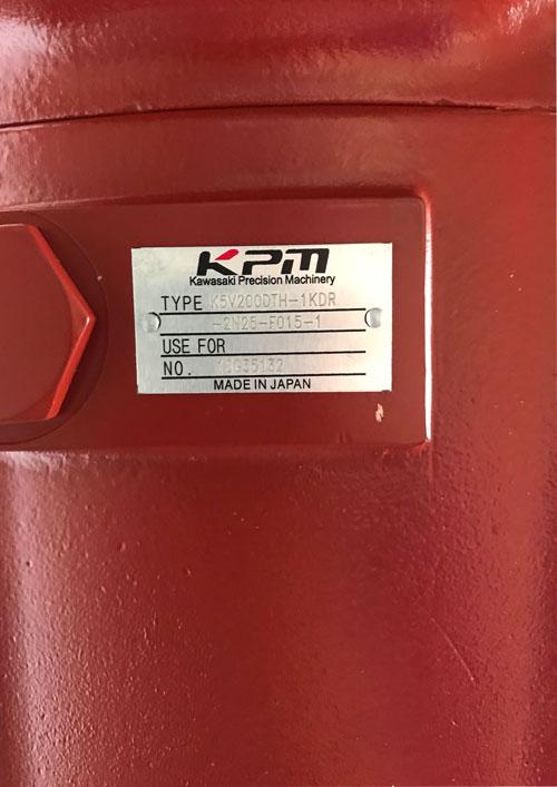 Bơm Kawasaki. TYPE: K5V200DTH-1KDR